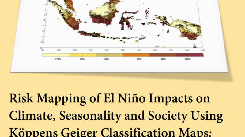 A Guidebook: Risk Mapping El Niño Climates